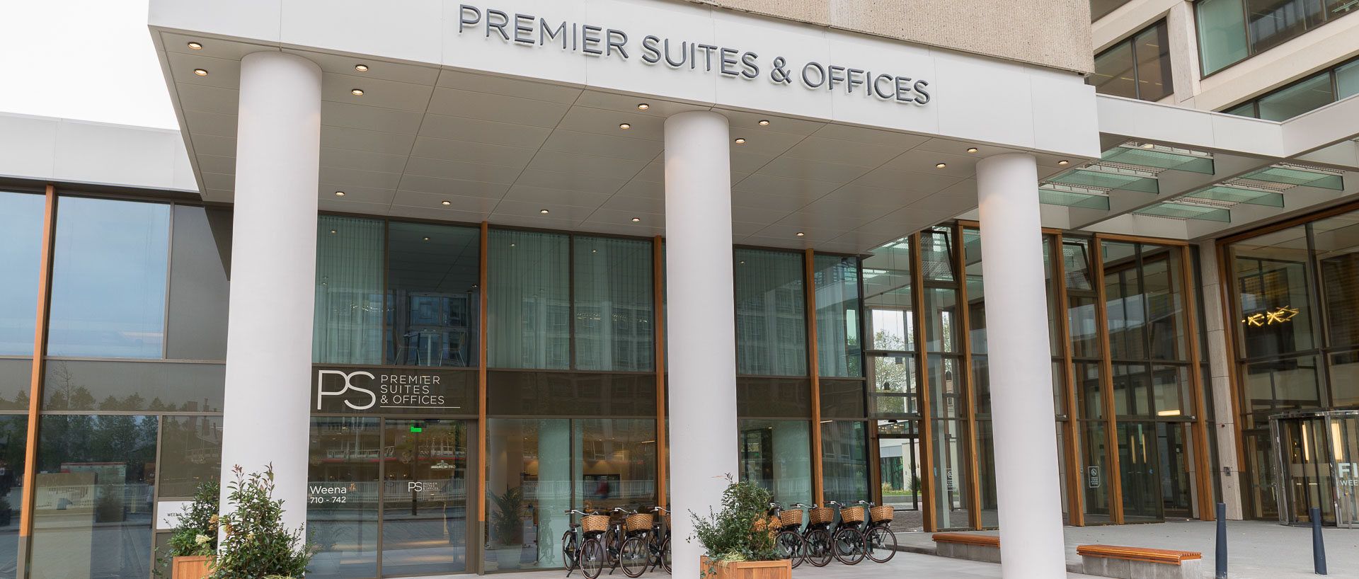 Entrance PREMIER SUITES PLUS Rotterdam